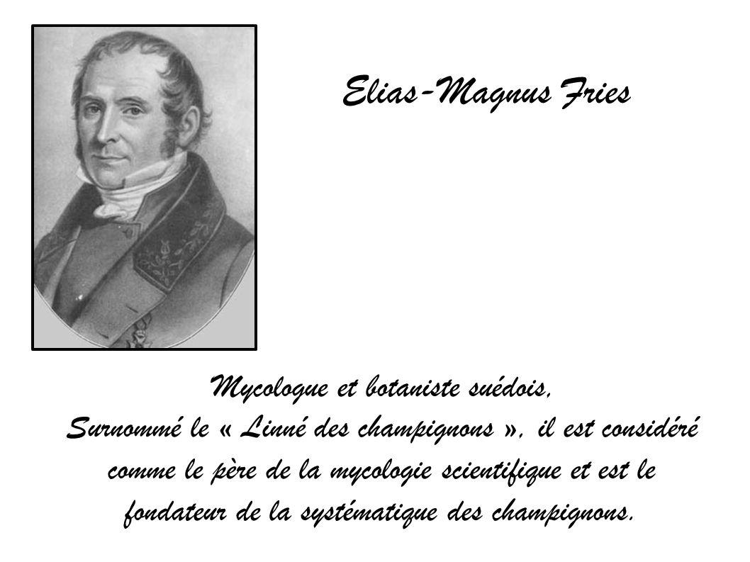 Mycologue et botaniste suédois,