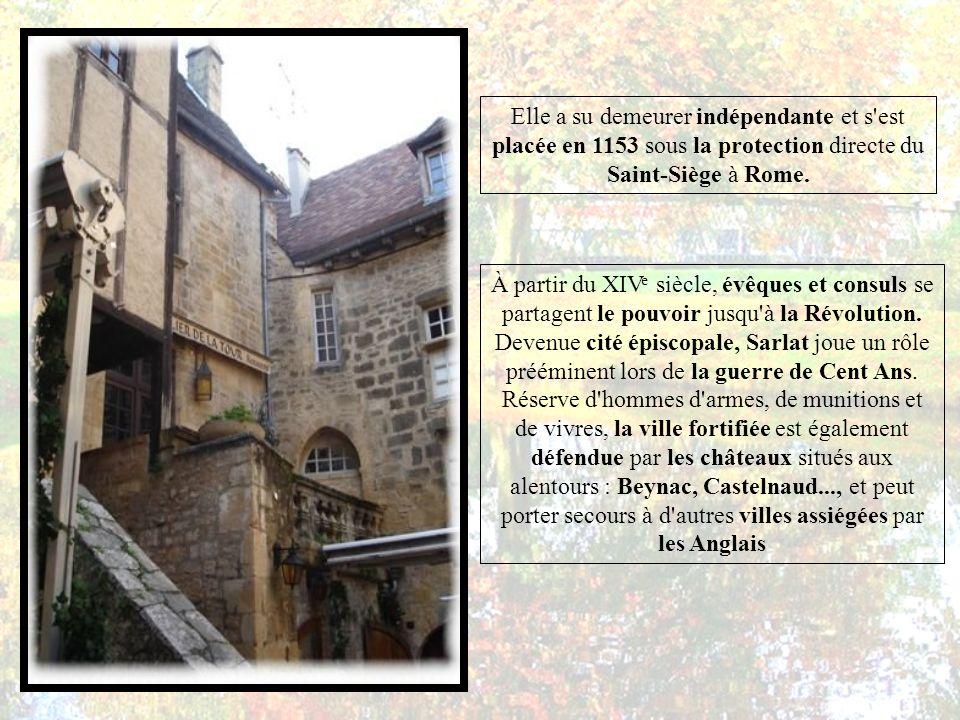 Elle a su demeurer indépendante et s est placée en 1153 sous la protection directe du Saint-Siège à Rome.