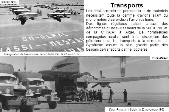 (Clément Torrès) Transports.