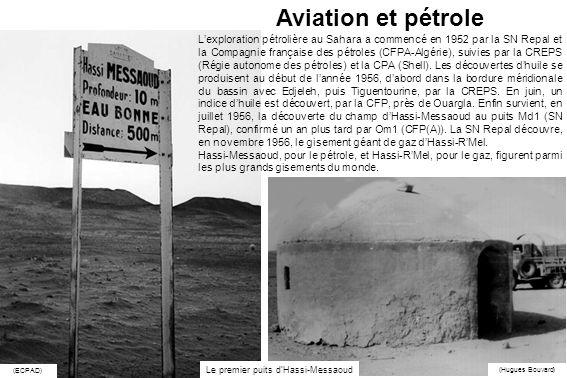 Le premier puits d'Hassi-Messaoud