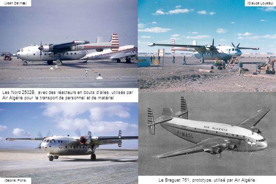 Le Breguet 761, prototype, utilisé par Air Algérie