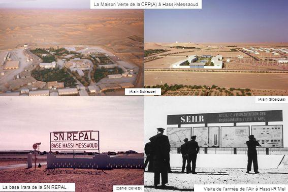 La Maison Verte de la CFP(A) à Hassi-Messaoud