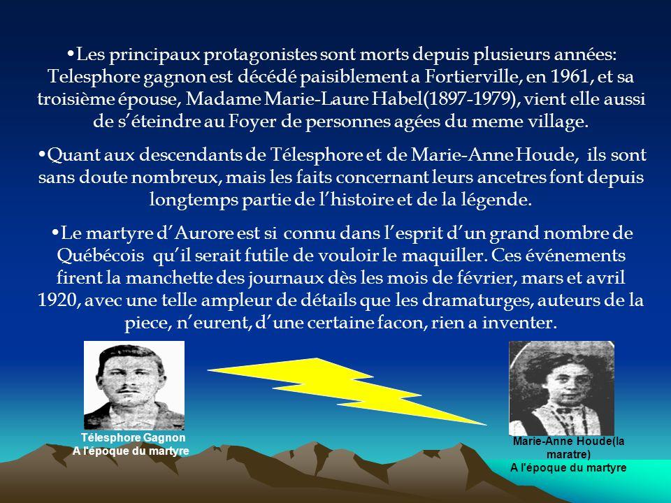 Marie-Anne Houde(la maratre)