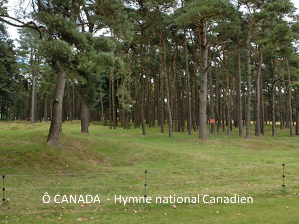 Ô CANADA - Hymne national Canadien