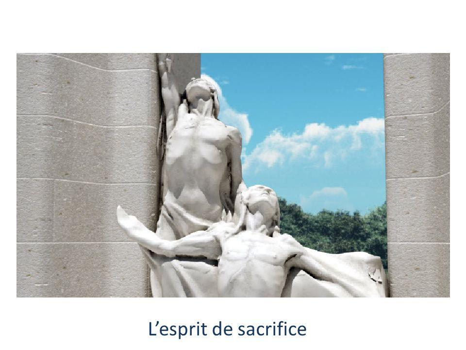 L'esprit de sacrifice