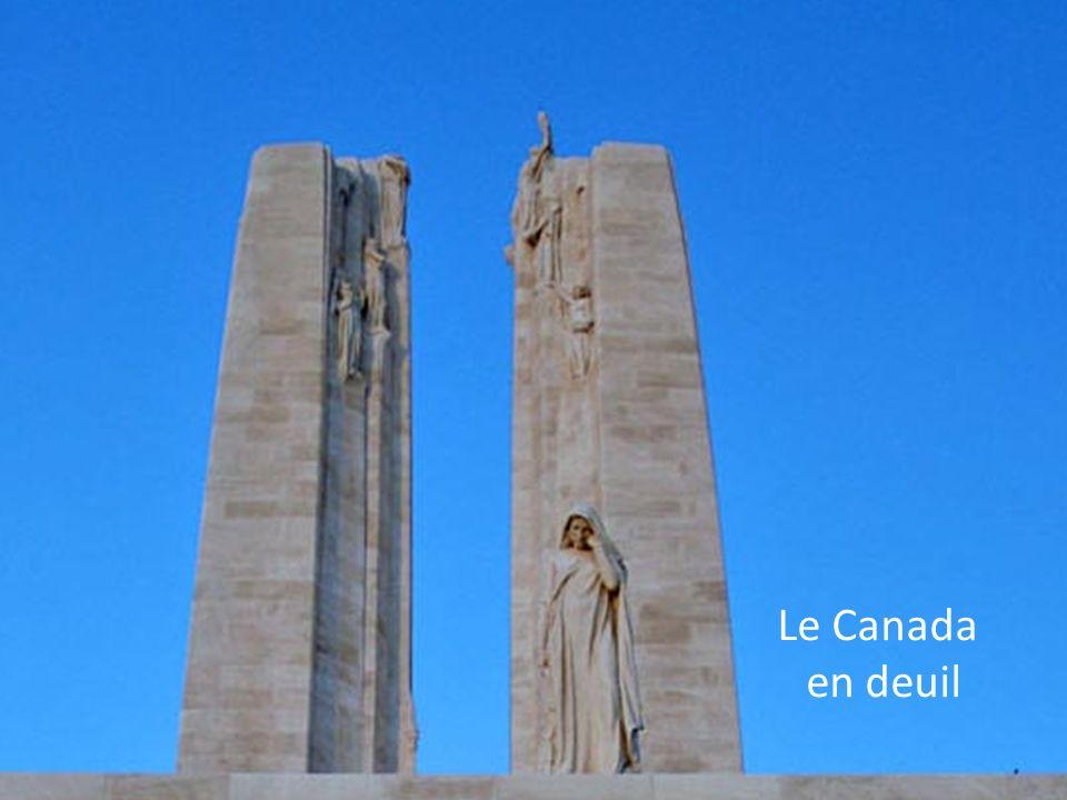 Le Canada en deuil
