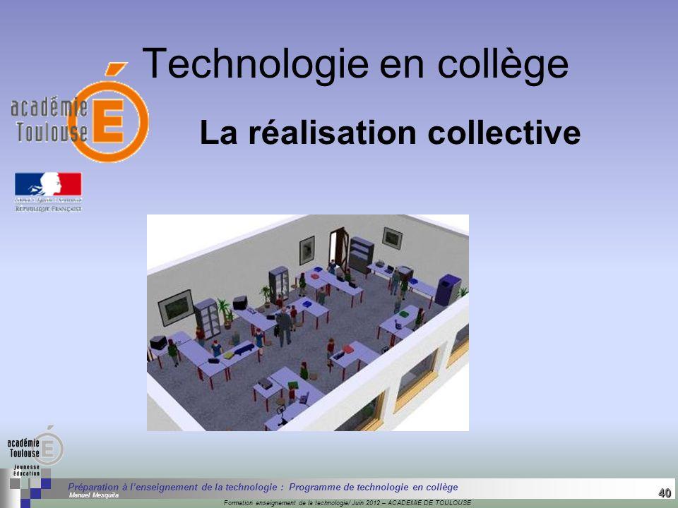Technologie en collège