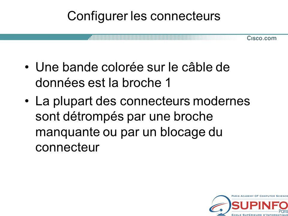Configurer les connecteurs