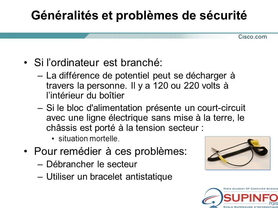 Généralités et problèmes de sécurité
