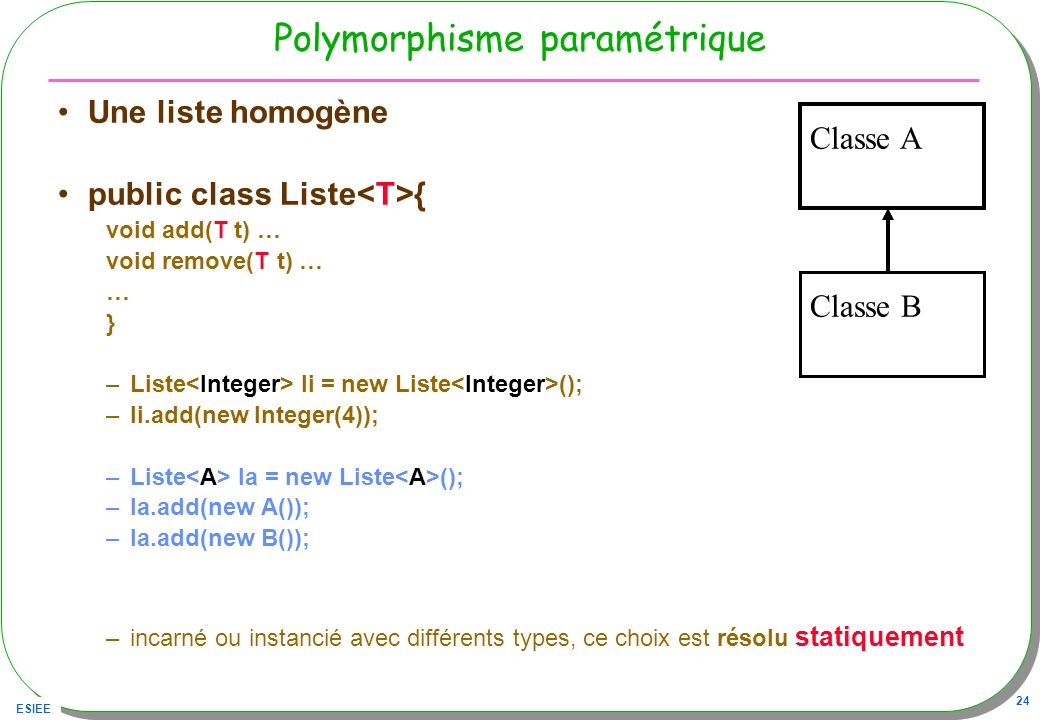 Polymorphisme paramétrique
