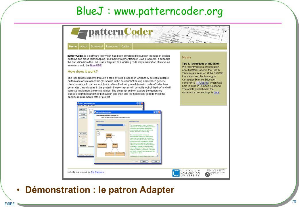 BlueJ : www.patterncoder.org