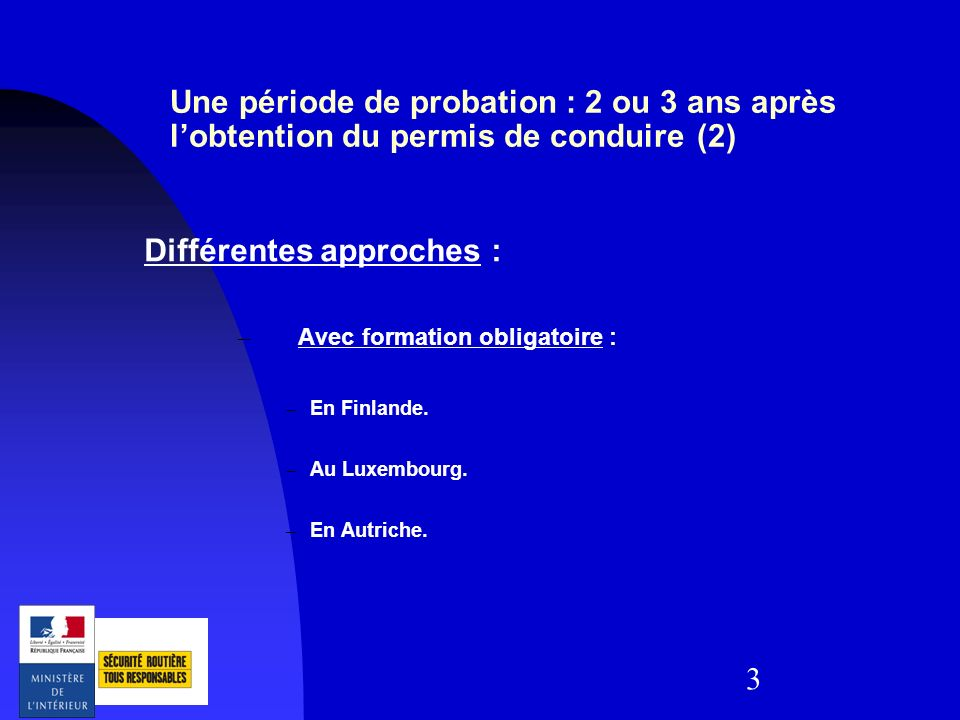 Différentes approches :
