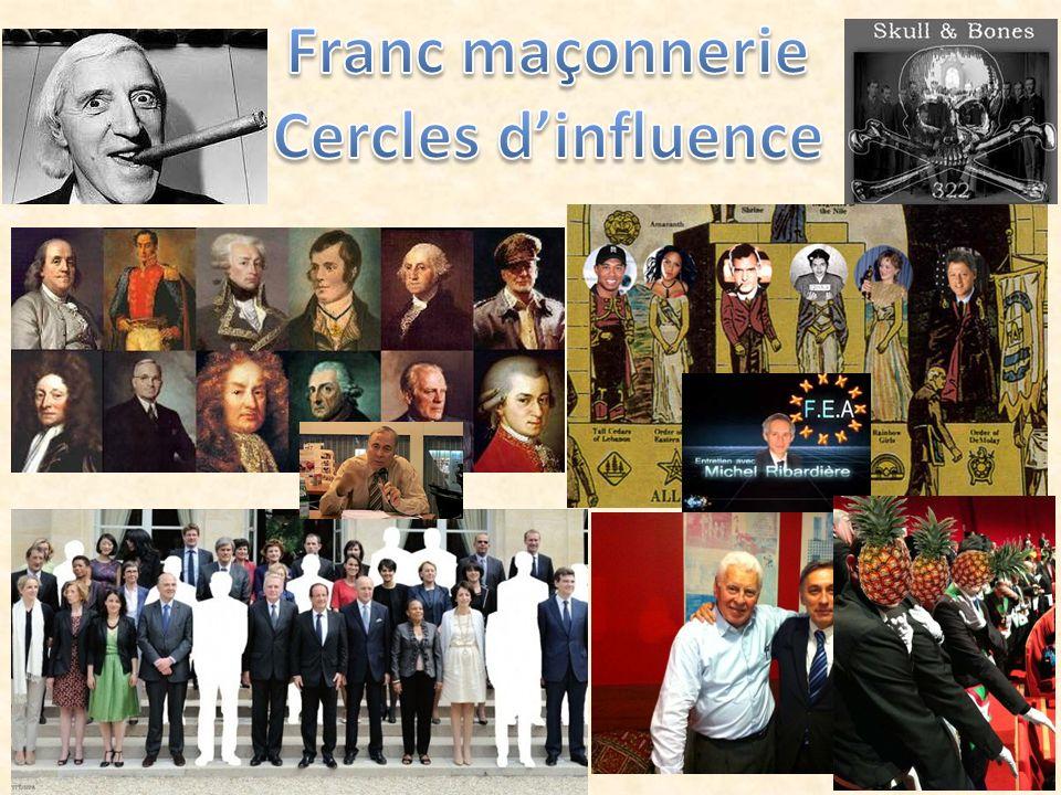 Franc maçonnerie Cercles d'influence