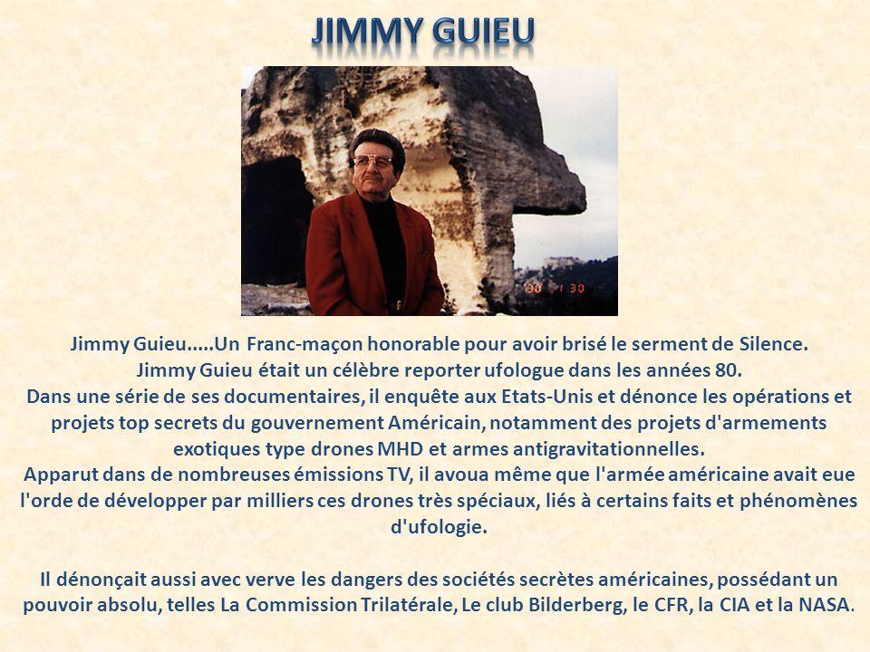 Jimmy Guieu était un célèbre reporter ufologue dans les années 80.