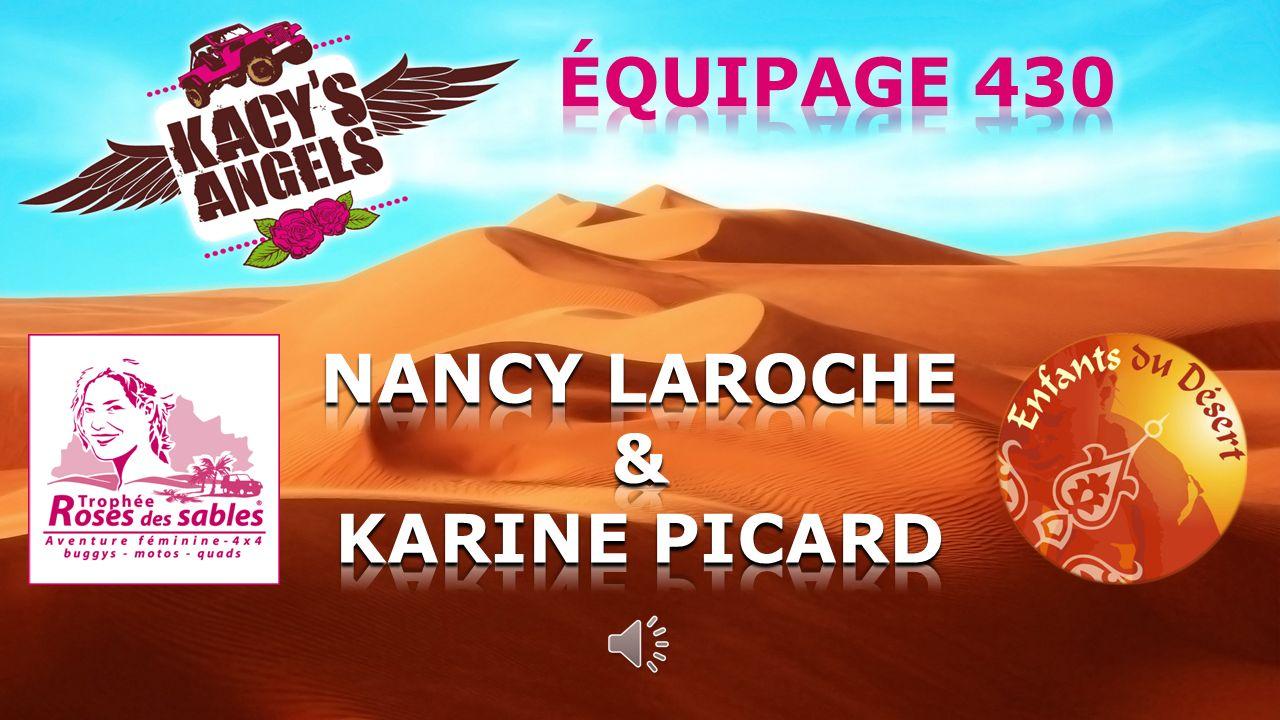 ÉQUIPAGE 430 NANCY LAROCHE & KARINE PICARD