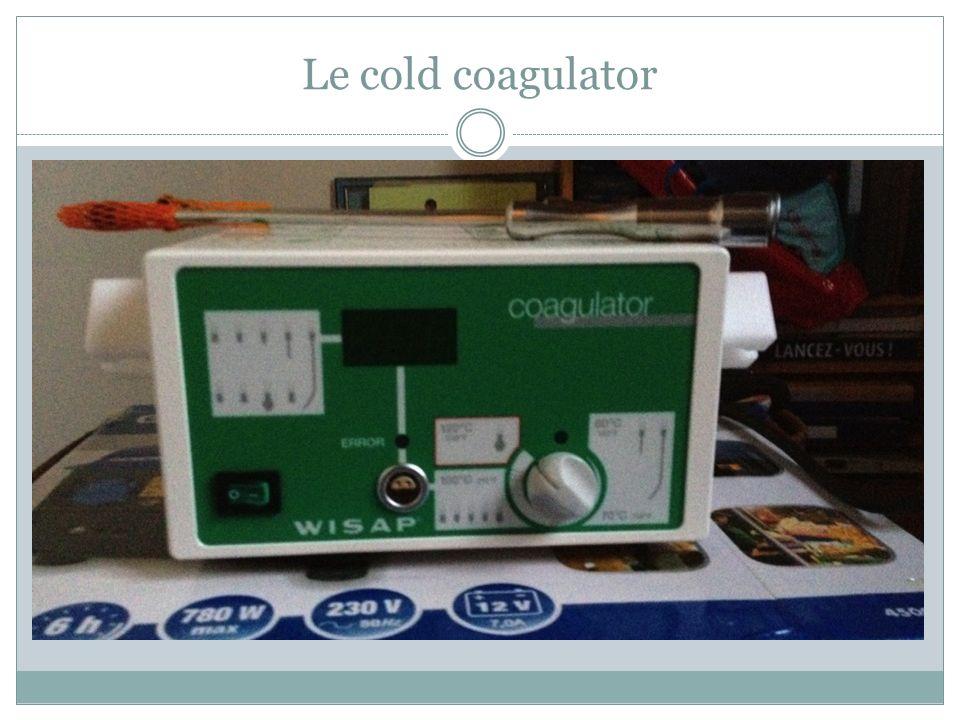 Le cold coagulator