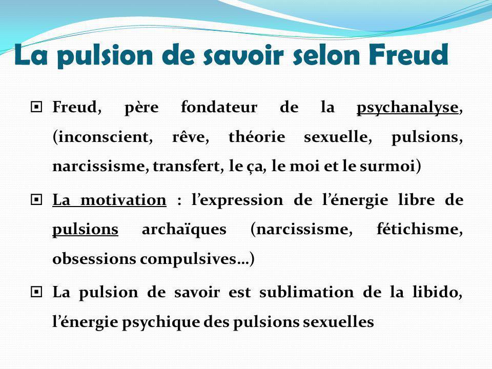La pulsion de savoir selon Freud