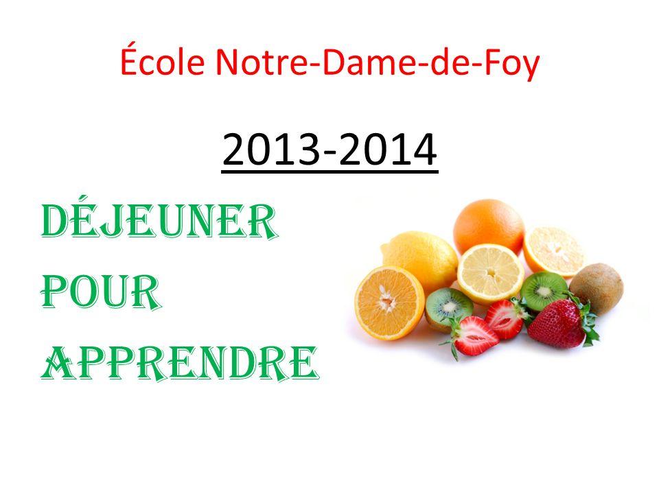École Notre-Dame-de-Foy