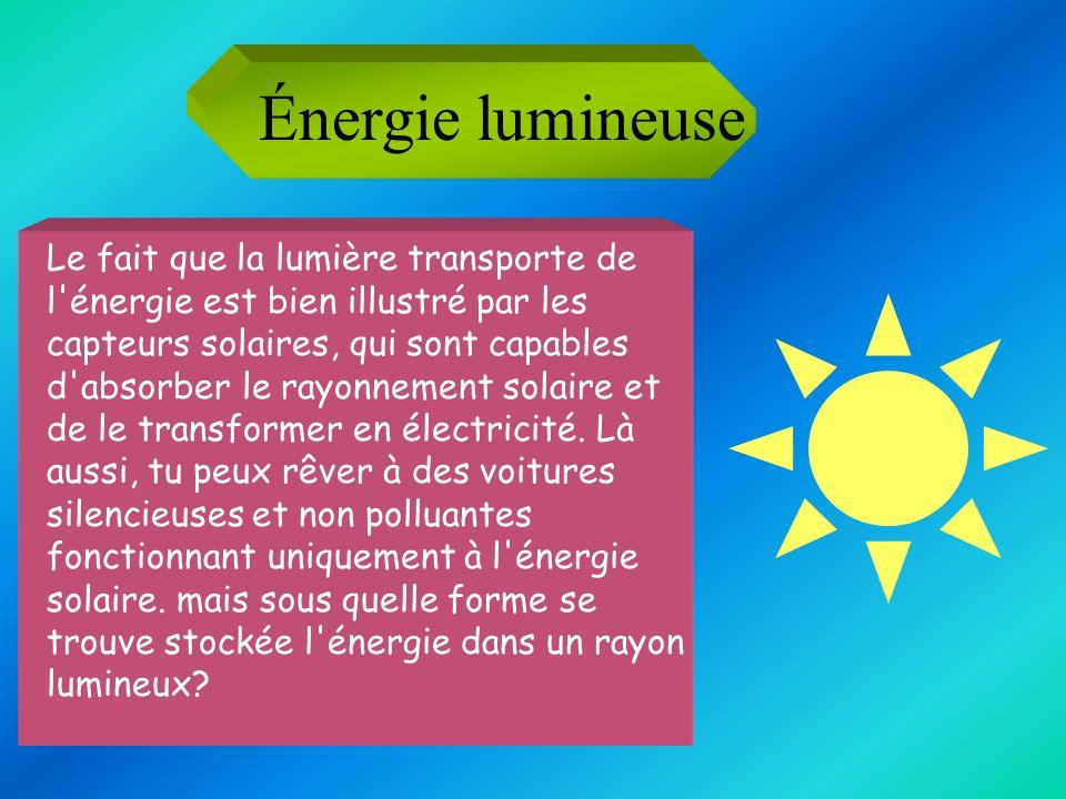 Énergie lumineuse