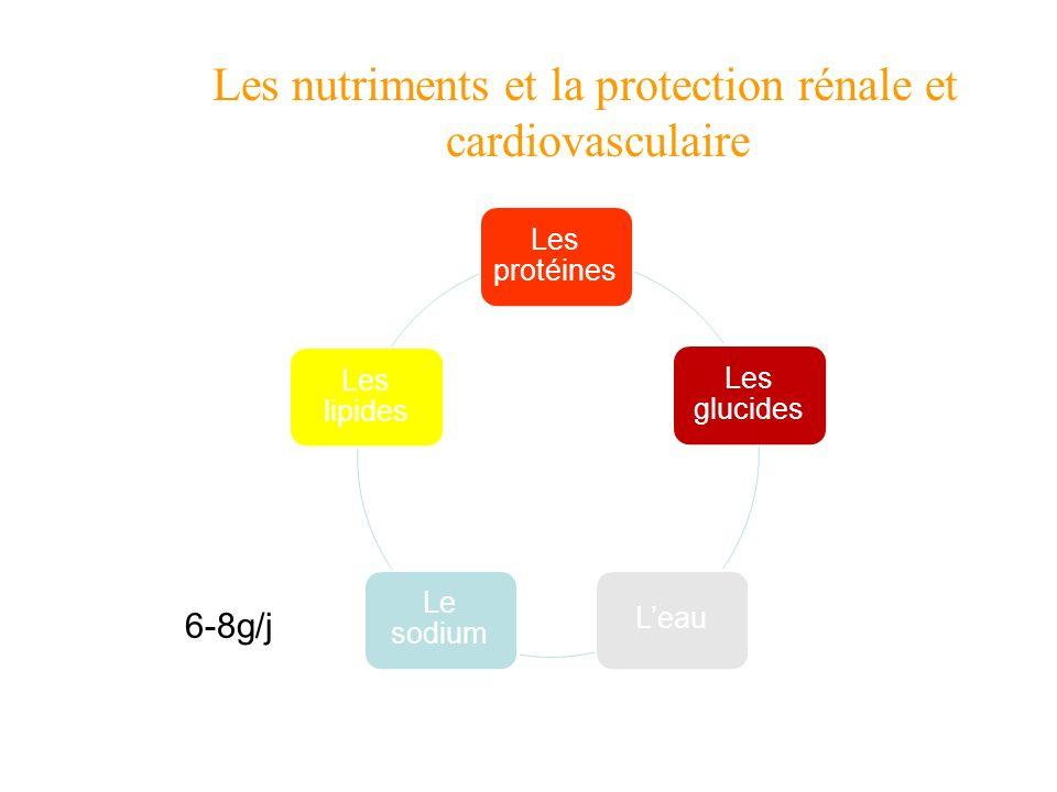 Les nutriments et la protection rénale et cardiovasculaire