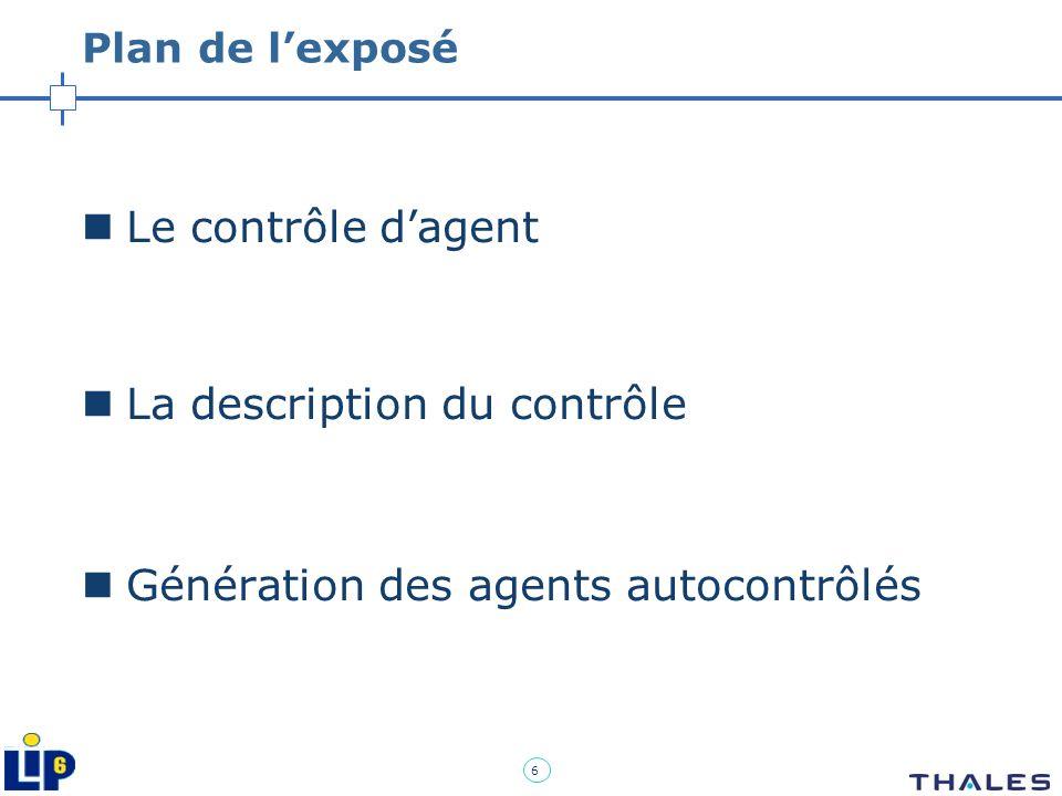 La description du contrôle