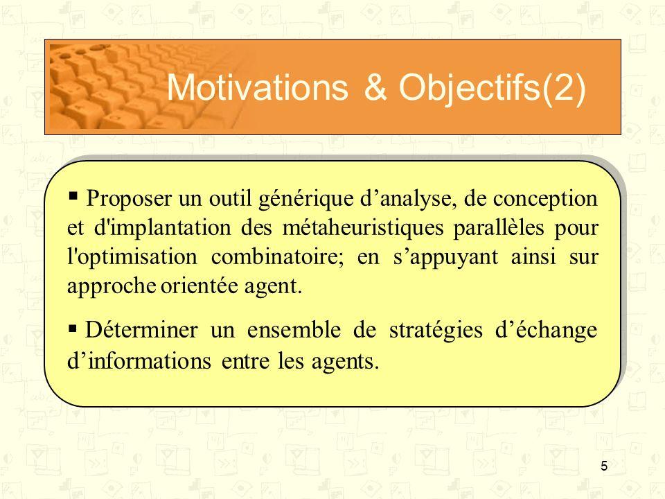 Motivations & Objectifs(2)