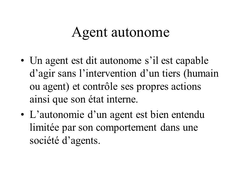 Agent autonome