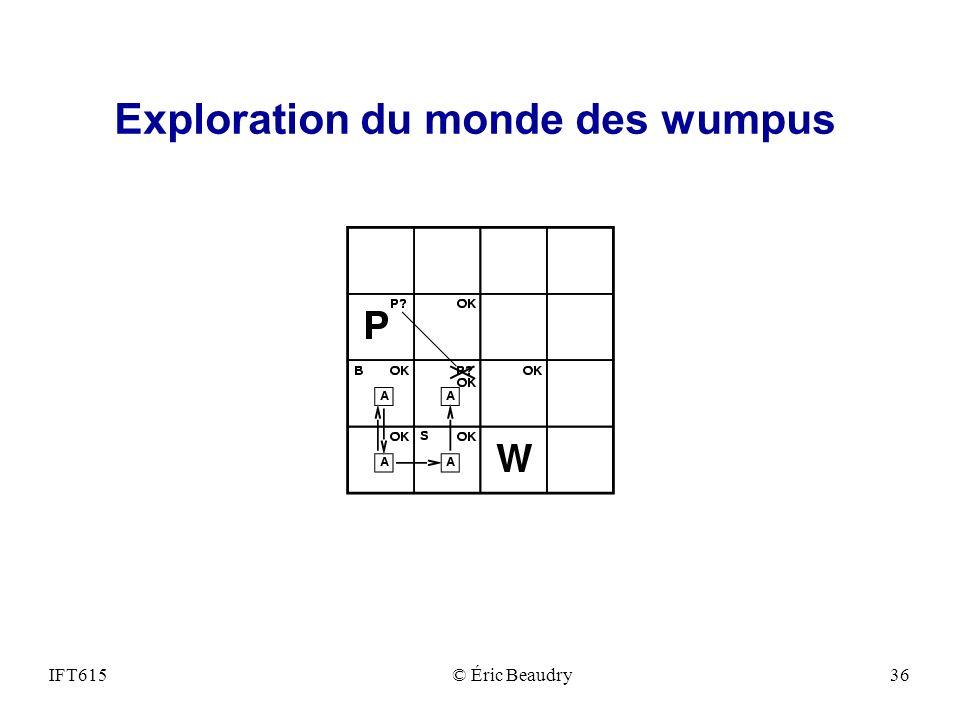 Exploration du monde des wumpus