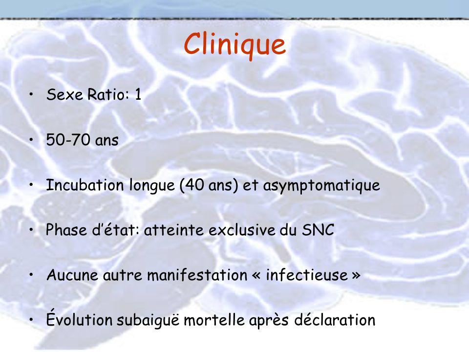 Clinique Sexe Ratio: 1 50-70 ans