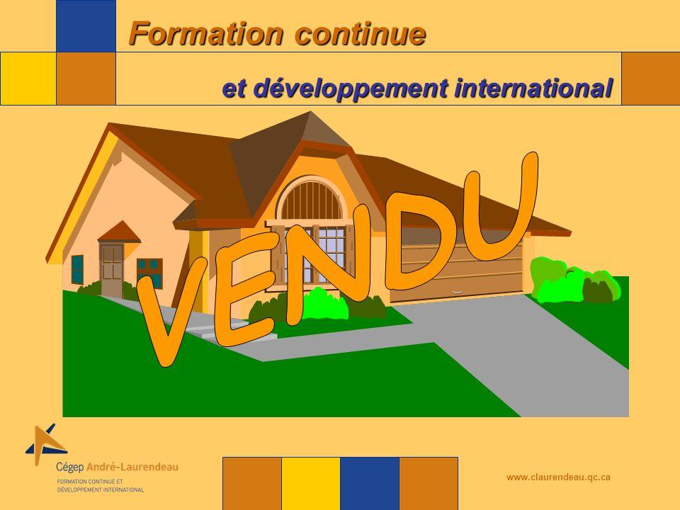 VENDU www.claurendeau.qc.ca