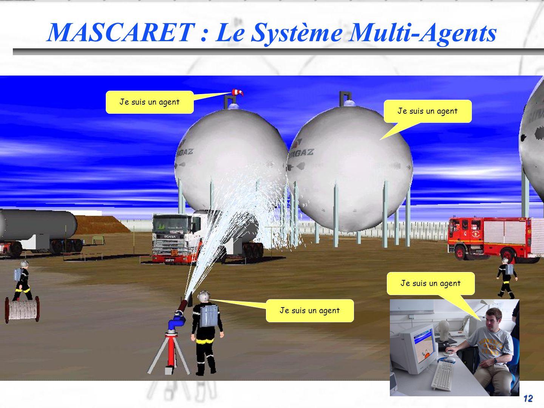 MASCARET : Le Système Multi-Agents