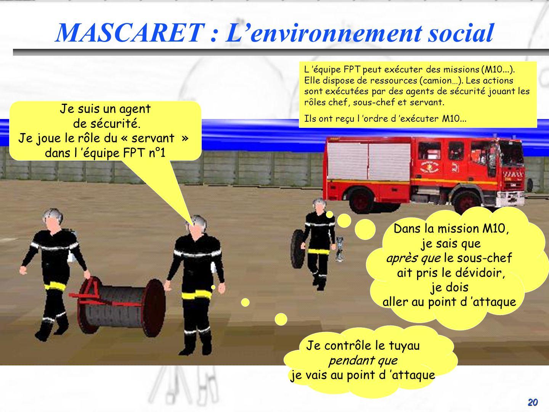 MASCARET : L'environnement social