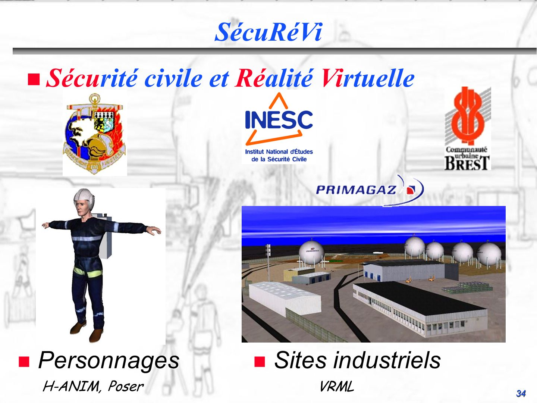Sécurité civile et Réalité Virtuelle