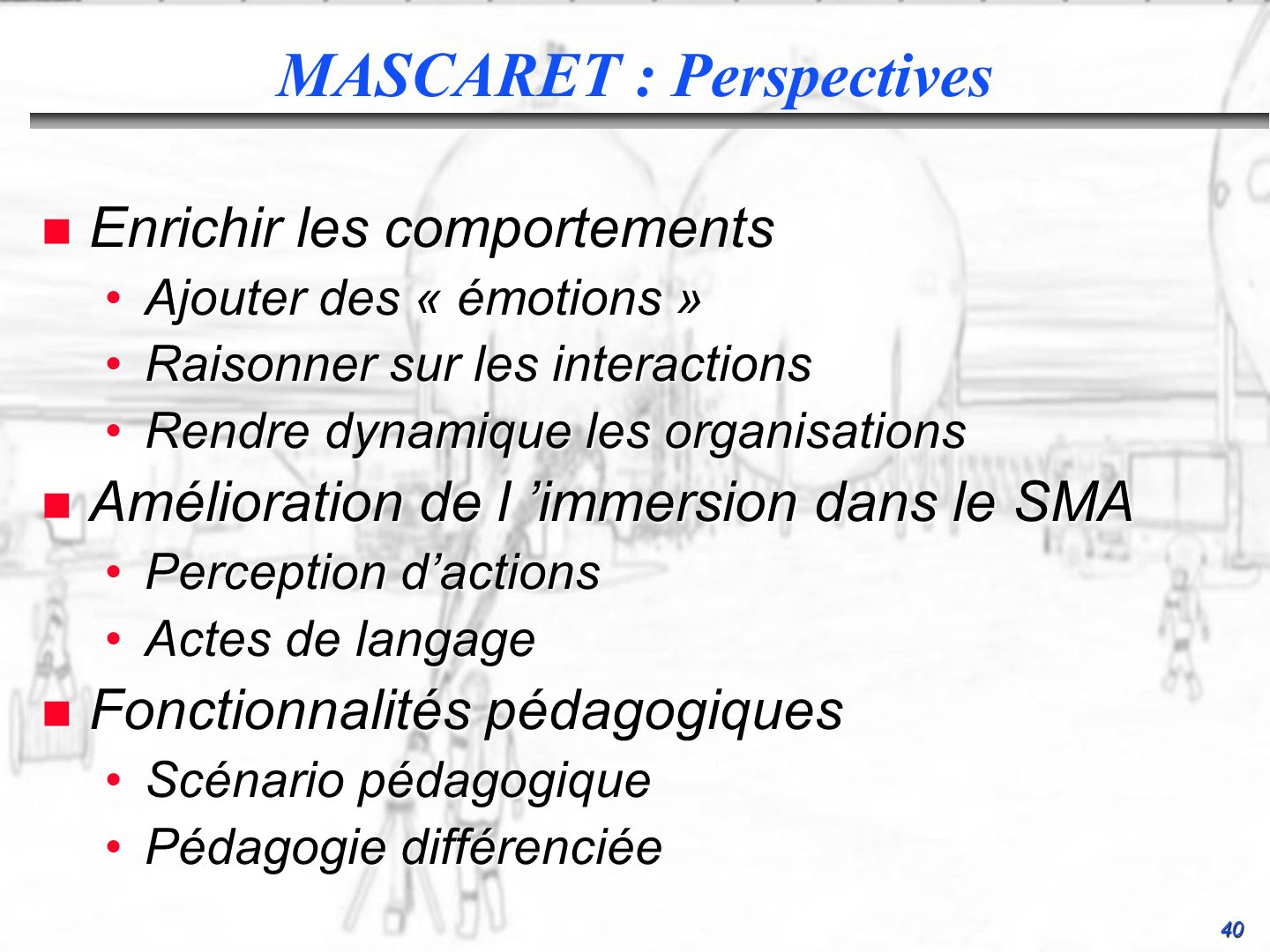 MASCARET : Perspectives