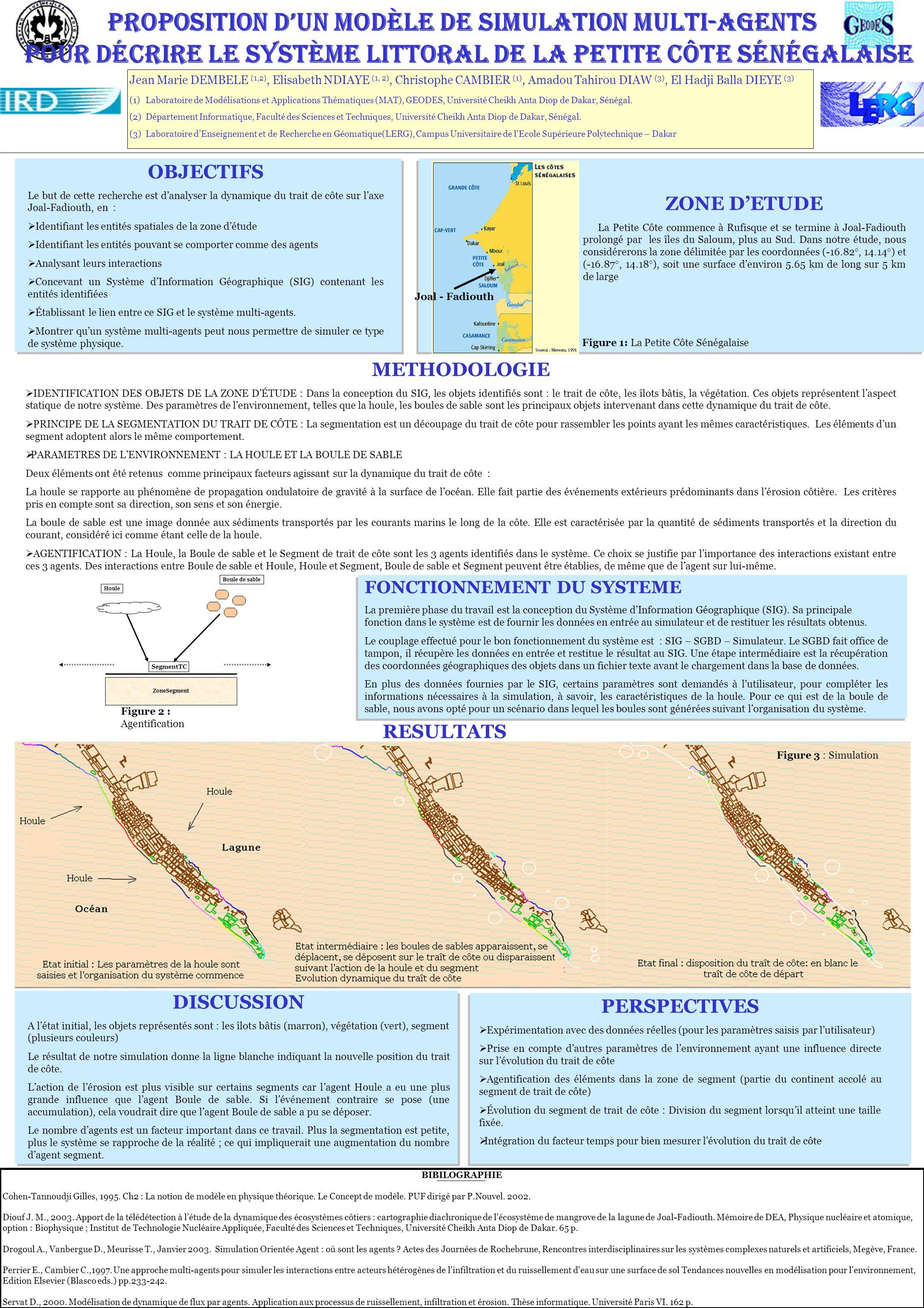 Proposition d'un modèle de simulation multi-agentS pour décrire le système littoral de la Petite Côte sénégalaise