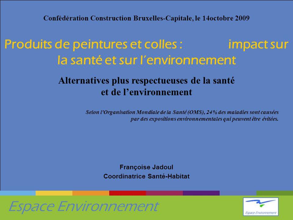 Françoise Jadoul Coordinatrice Santé-Habitat