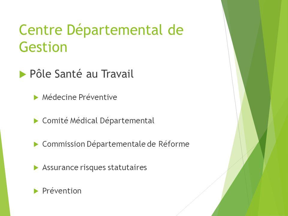 Centre Départemental de Gestion