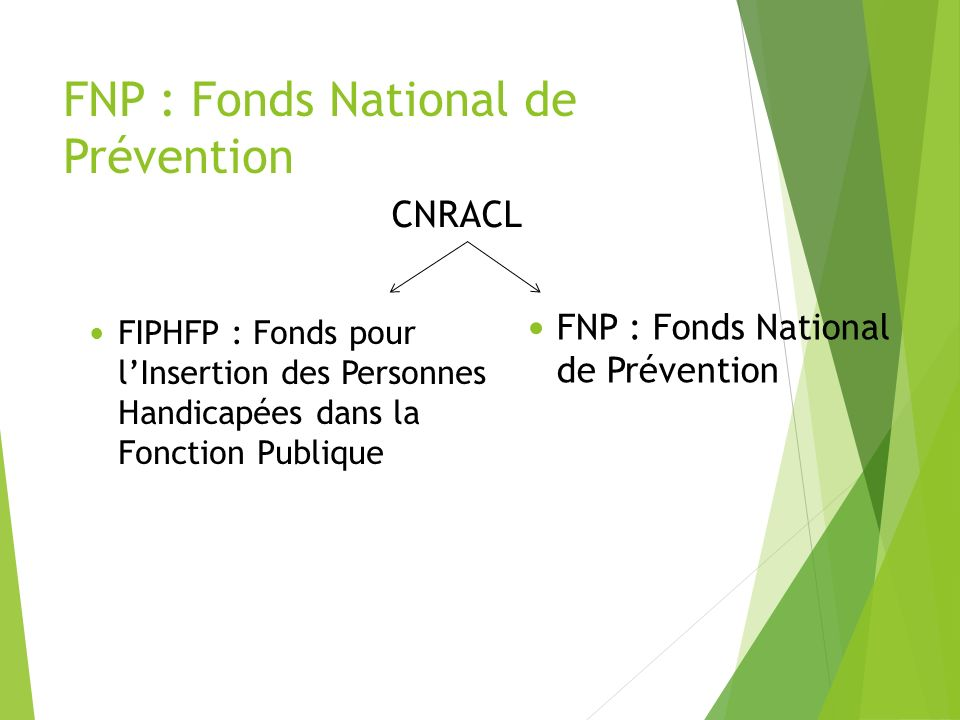 FNP : Fonds National de Prévention