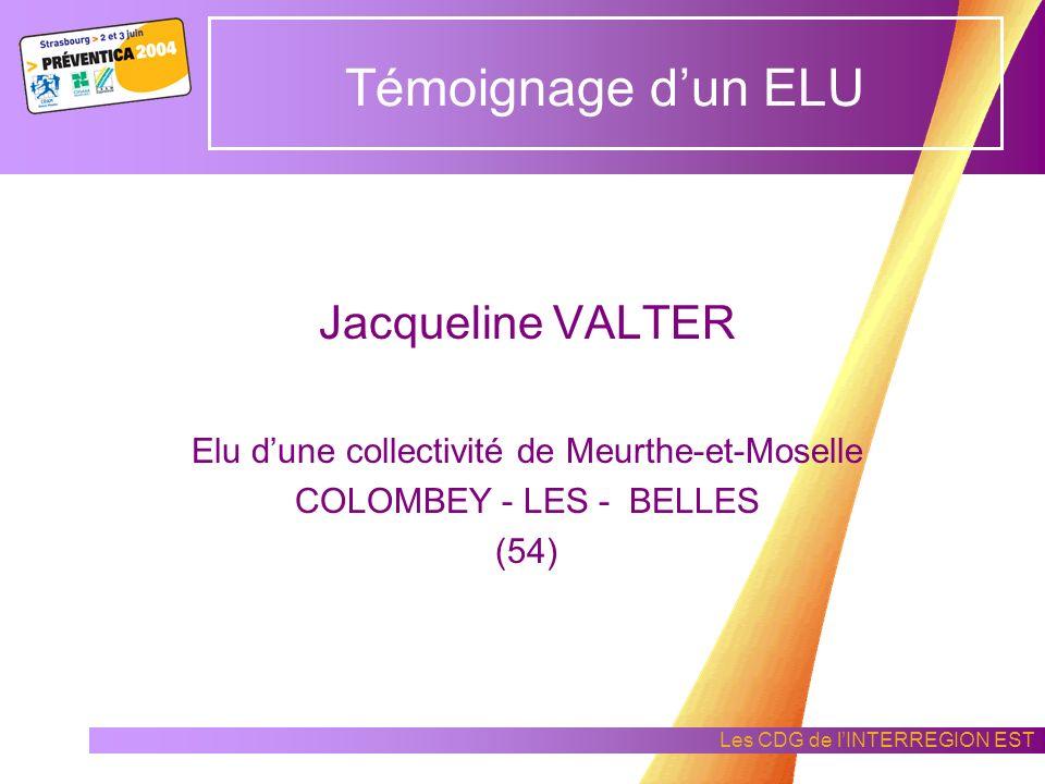 Elu d'une collectivité de Meurthe-et-Moselle