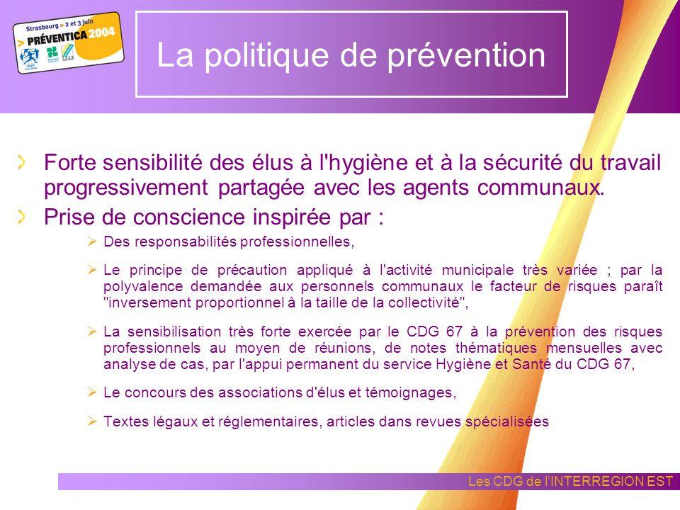 La politique de prévention
