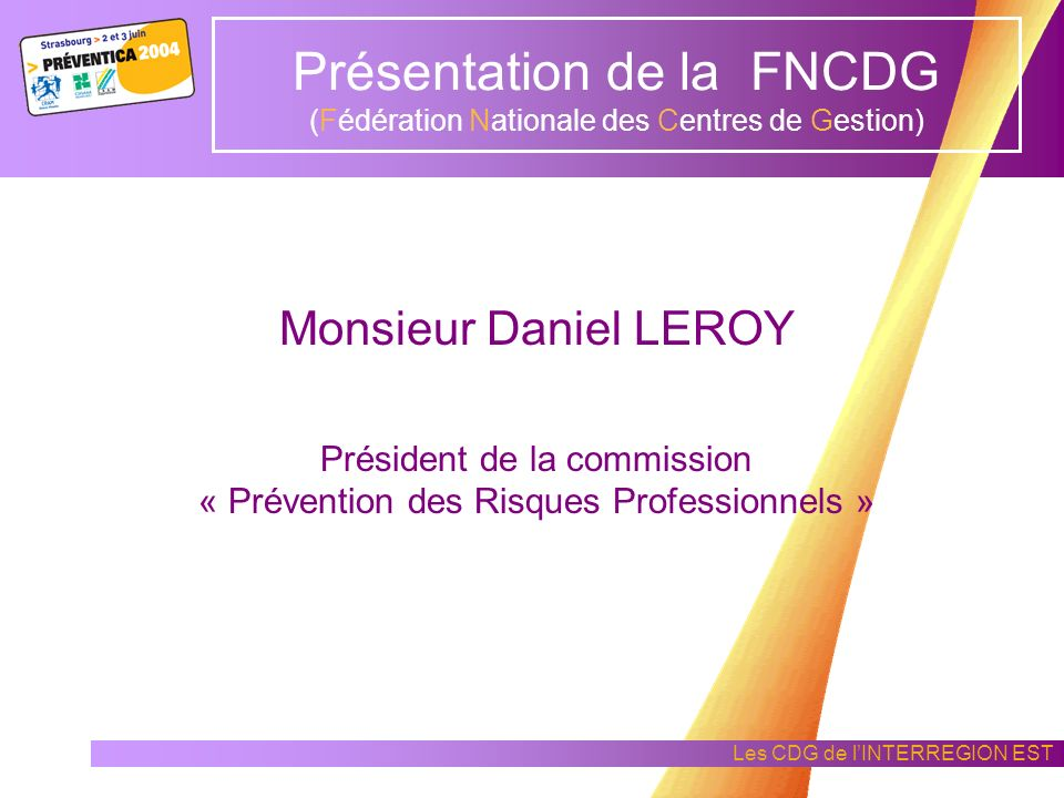 Présentation de la FNCDG (Fédération Nationale des Centres de Gestion)