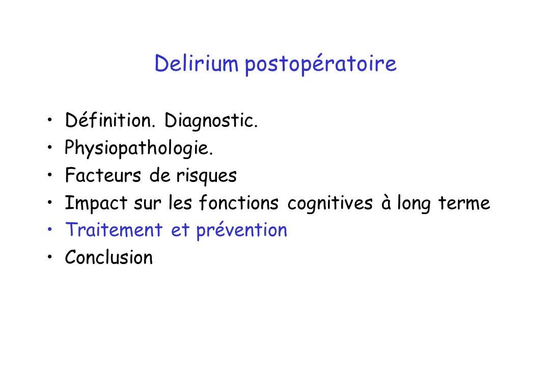 Delirium postopératoire