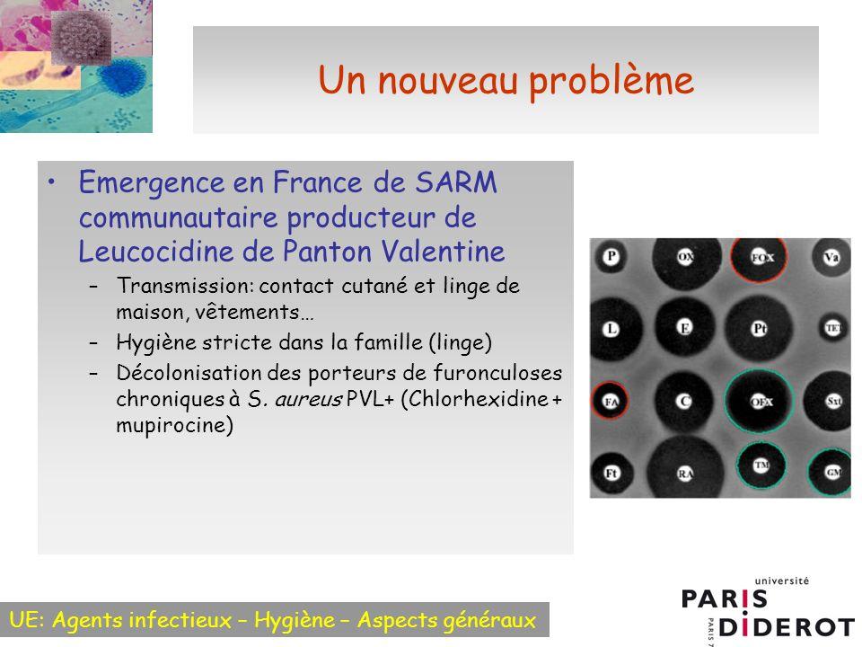 Un nouveau problème Emergence en France de SARM communautaire producteur de Leucocidine de Panton Valentine.