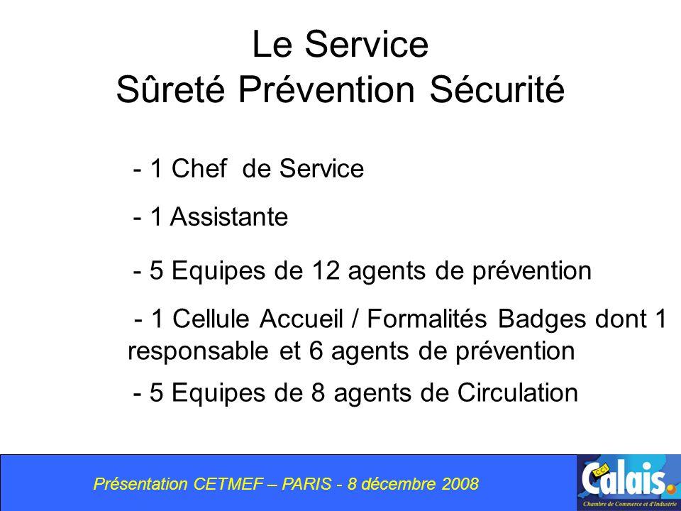 Le Service Sûreté Prévention Sécurité