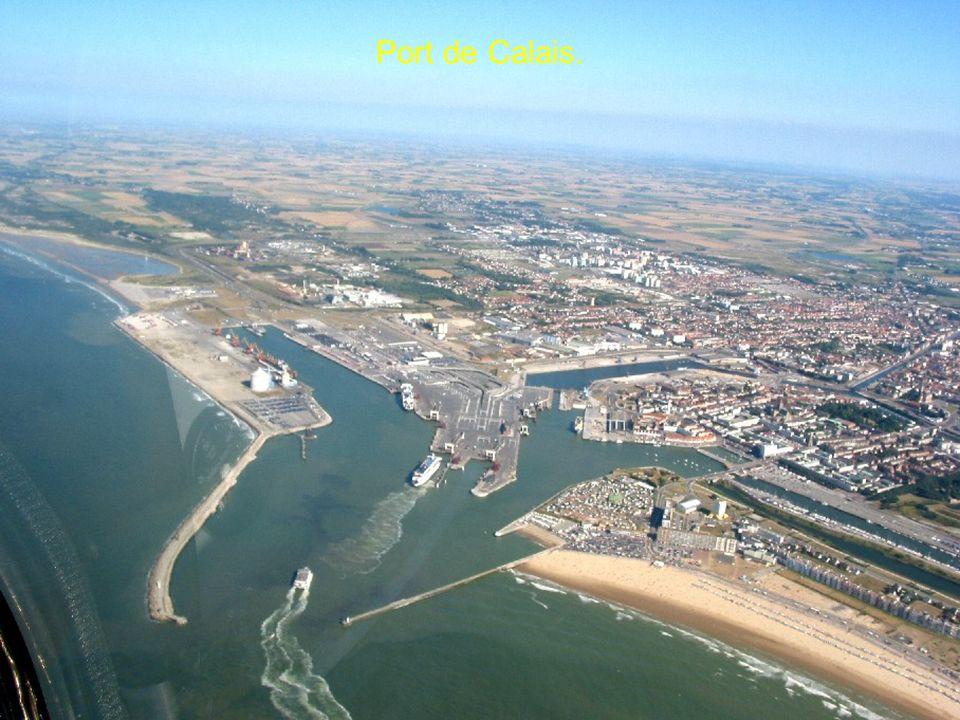Port de Calais.