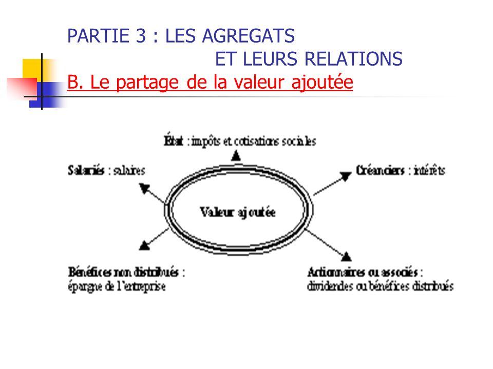 PARTIE 3 : LES AGREGATS. ET LEURS RELATIONS B