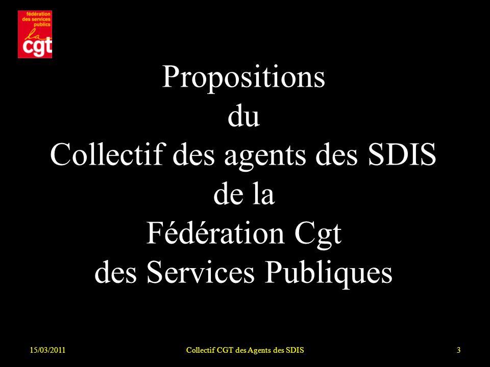 Collectif CGT des Agents des SDIS