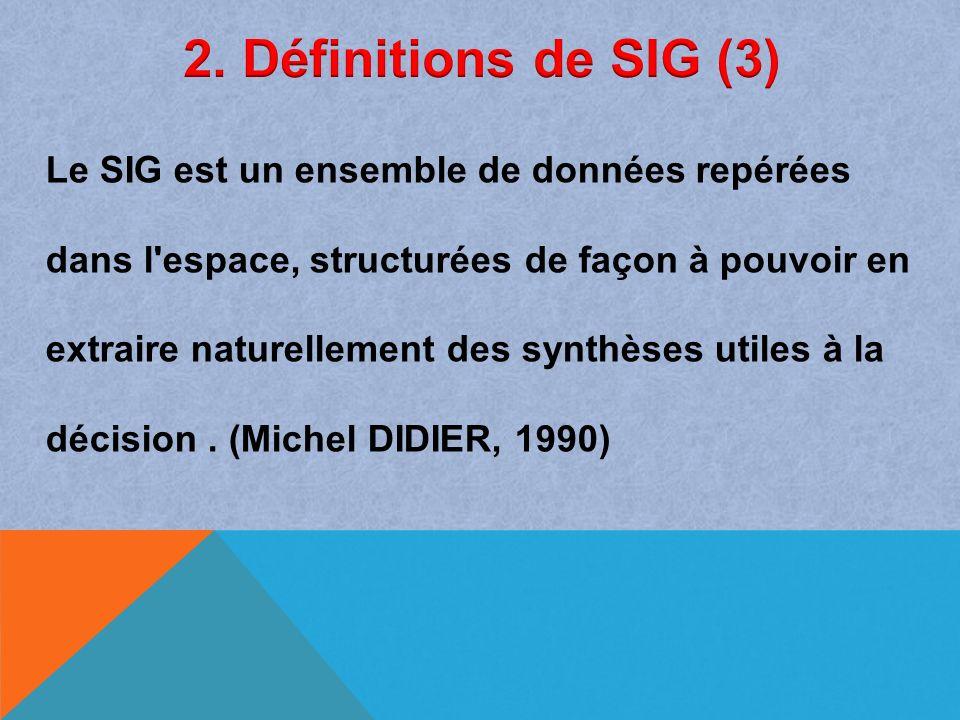 2. Définitions de SIG (3)