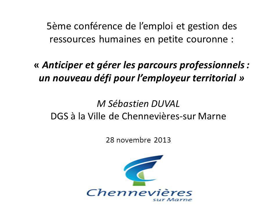 DGS à la Ville de Chennevières-sur Marne