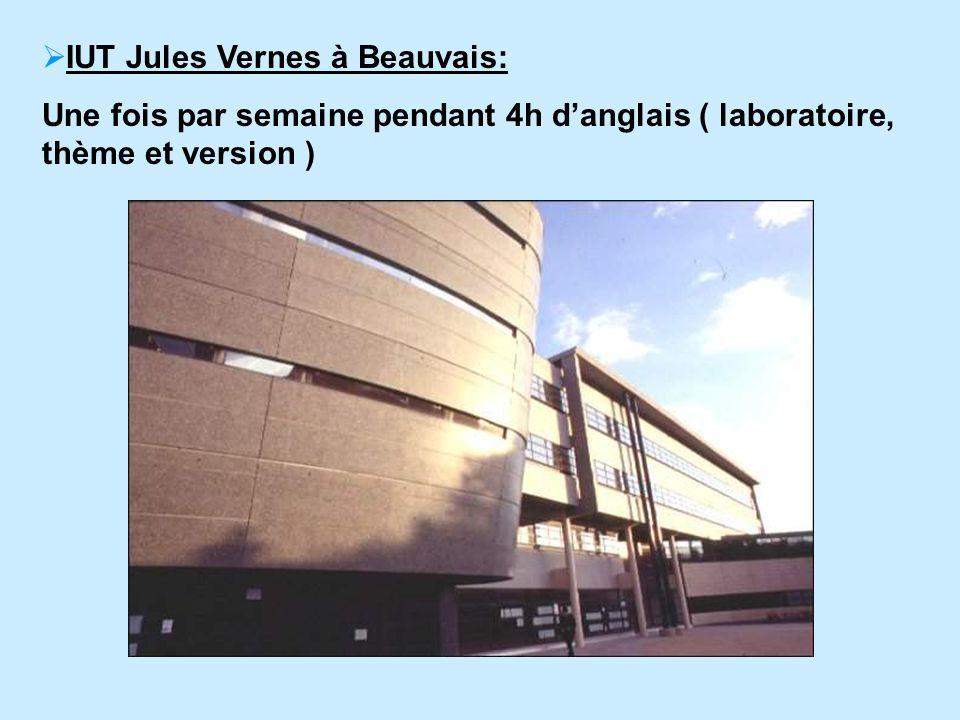 IUT Jules Vernes à Beauvais: